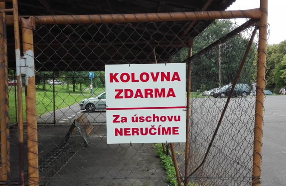 Problematika zrušení obsluhy úschovny kol na koupališti Hrabinská