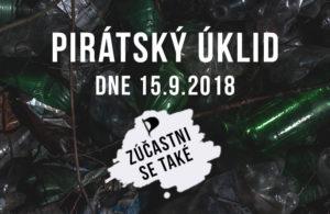 Přidej se k pirátskému úklidu Na Horkách v Českém Těšíně