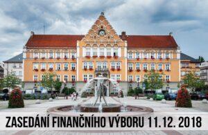 Finanční výbor nepodpořil rozpočet města pro rok 2019