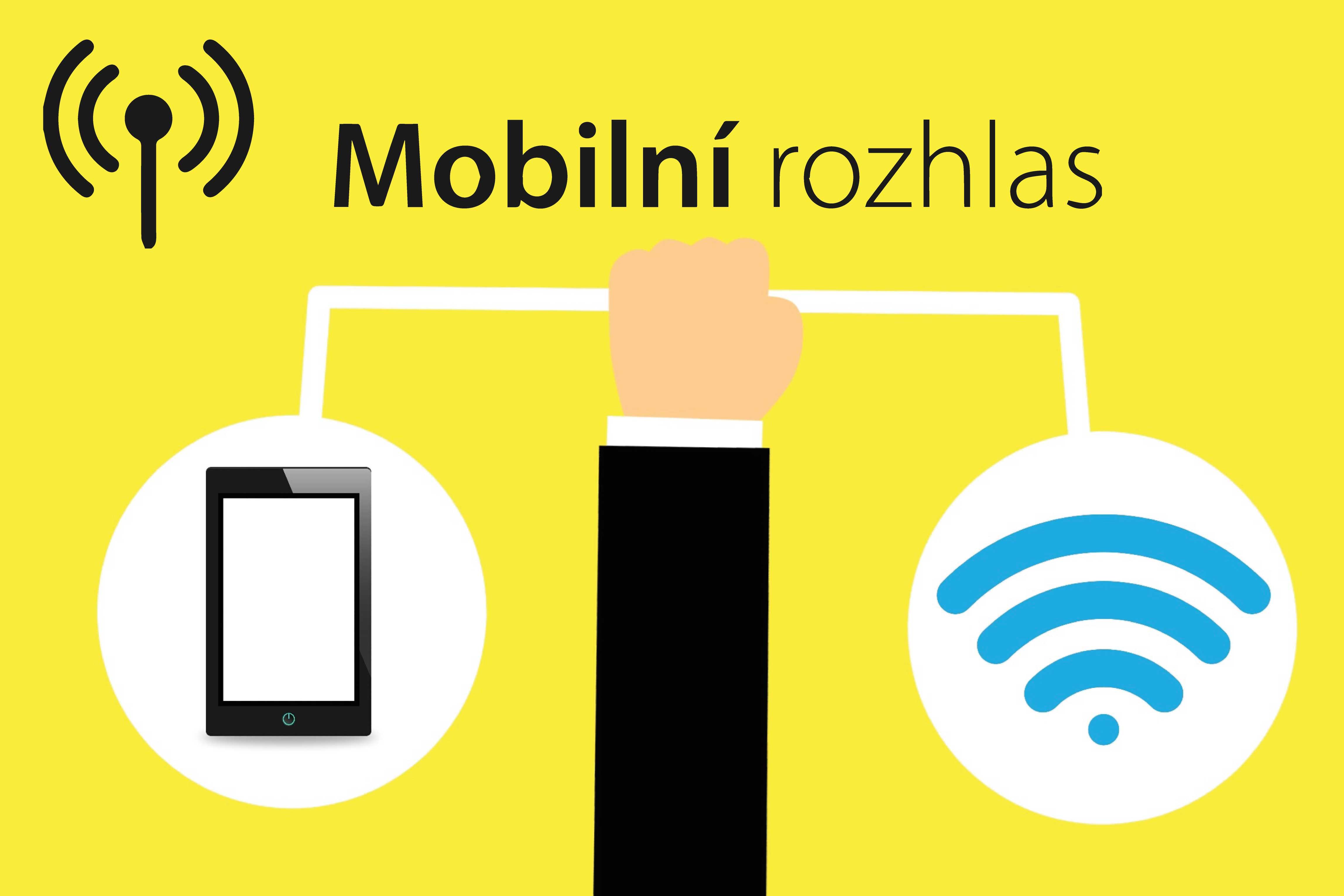 Aplikace Mobilní rozhlas