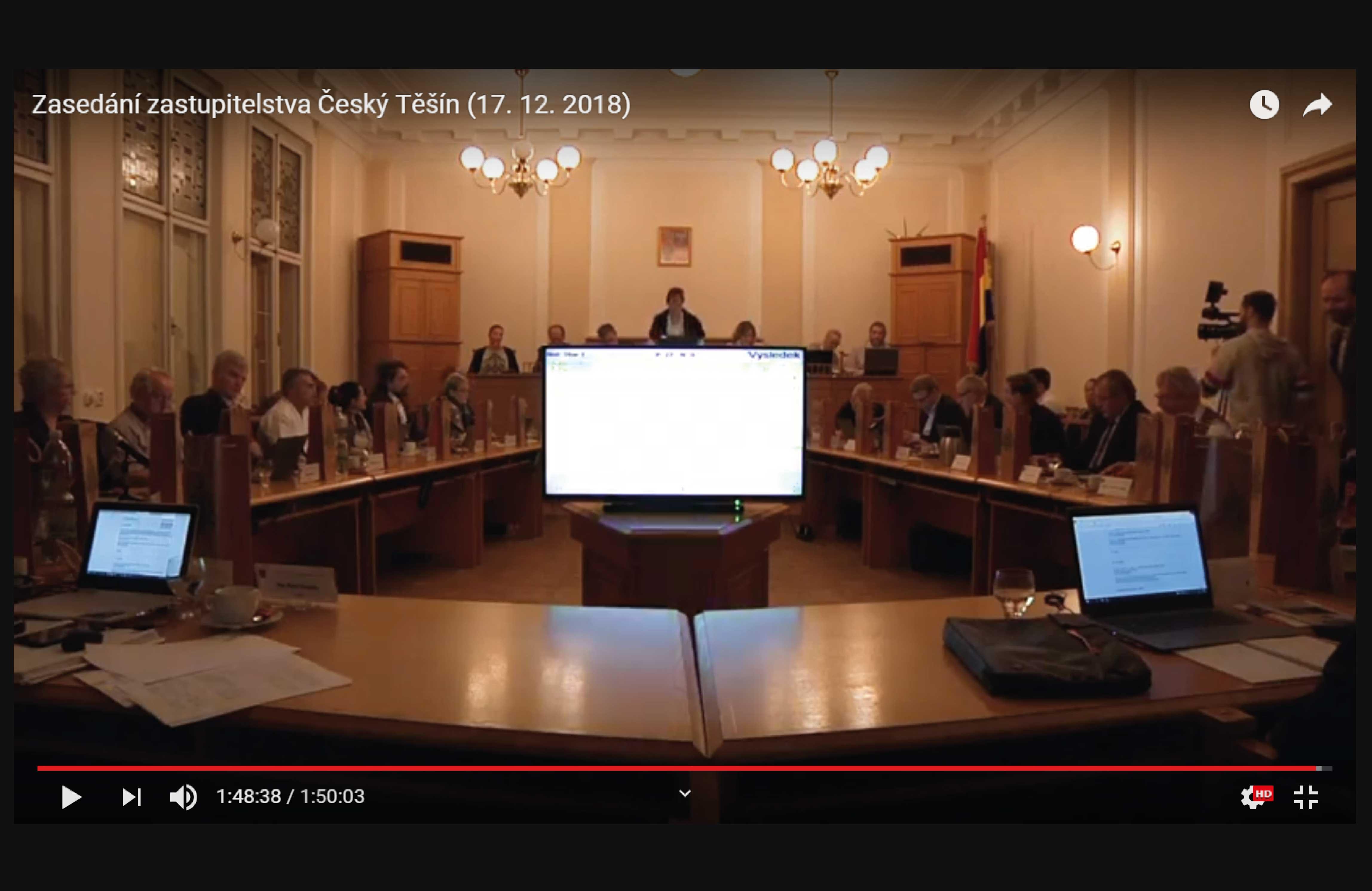 Report z druhého zasedání zastupitelstva včetně kompletního videozáznamu!