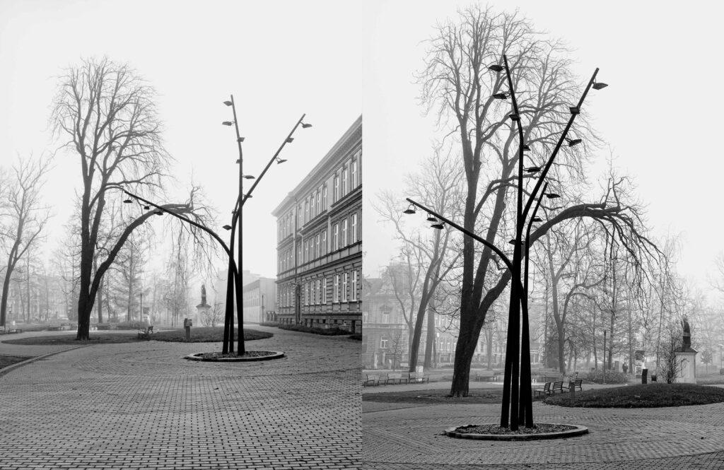 """Rekonstrukce """"světelného stromu"""""""