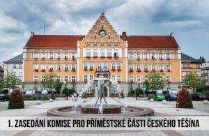 První zasedání Komise pro příměstské části Českého Těšína