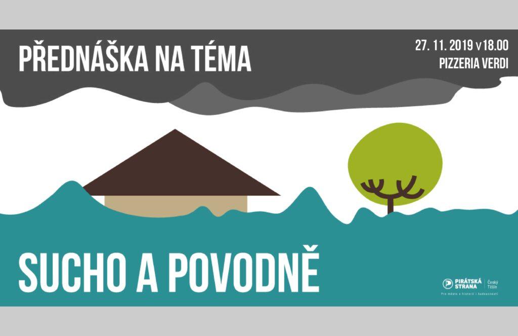 Pozvánka na přednášku o suchu a povodních
