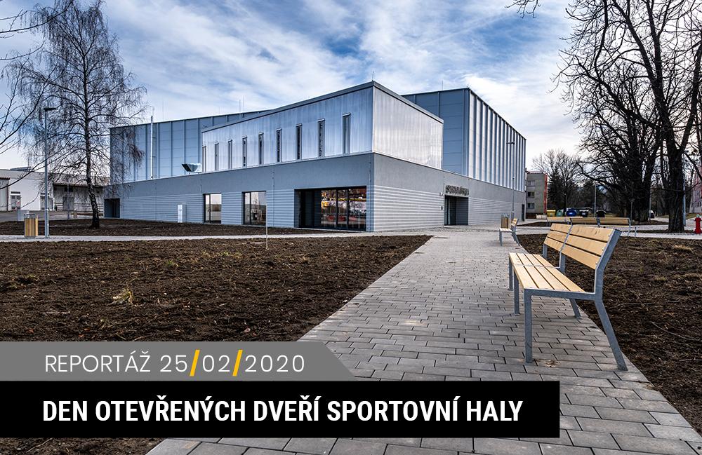 Den otevřených dveří v těšínské sportovní hale