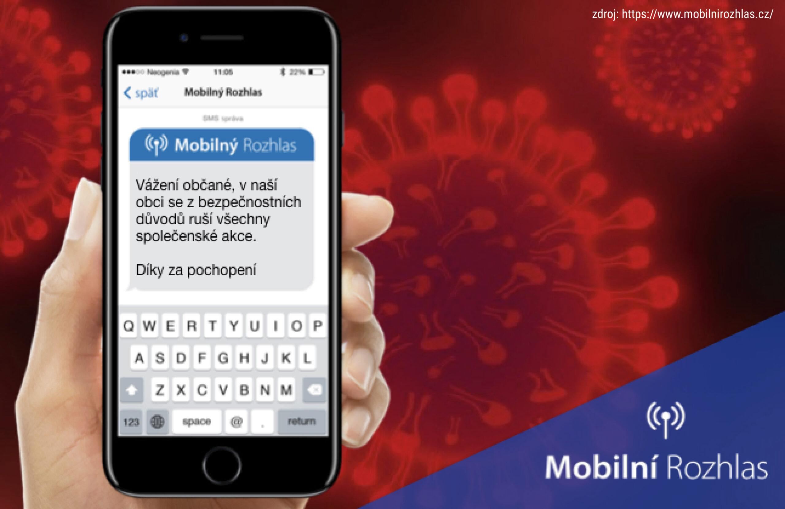 Český Těšín zavádí Mobilní Rozhlas. Jak se registrovat?